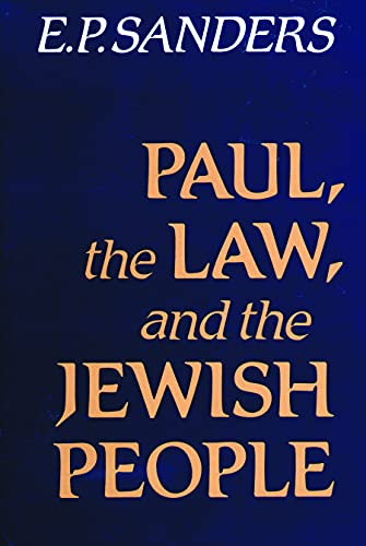 9780800618780: Paul the Law and the Jewish People