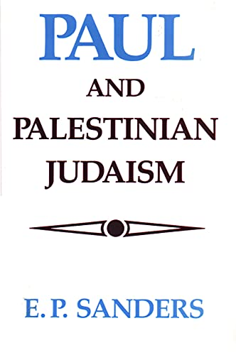 9780800618995: Paul and Palestinian Judaism: A Comparison of Patterns of Religion