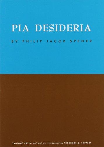 9780800619534: Pia Desideria
