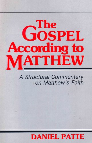 9780800619787: The Gospel According to Matthew: A Structural Commentary on Matthew's Faith