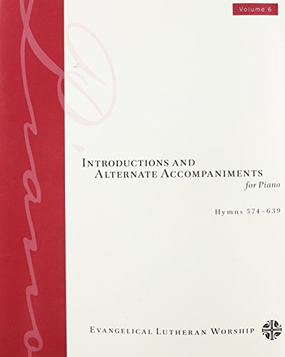 9780800623647: Introductions and Alternate Accompaniments for Piano: 6
