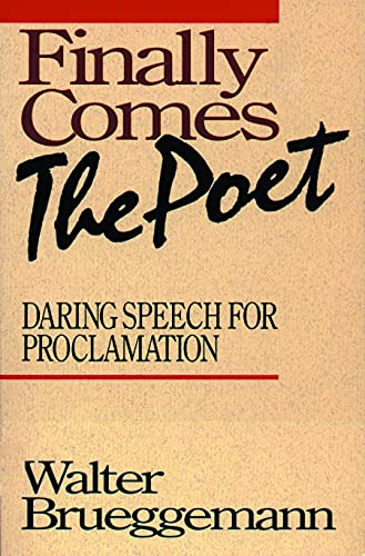 9780800623944: Finally Comes The Poet