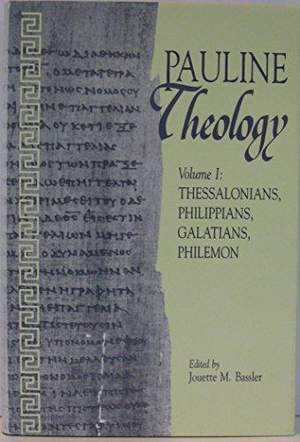 9780800624880: Pauline Theology, Volume I: Thessalonians, Philippians, Galatians, Philemon
