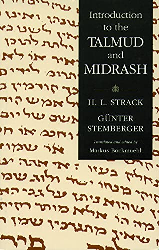 Introduction to the Talmud and Midrash: Strack, Hermann L.;