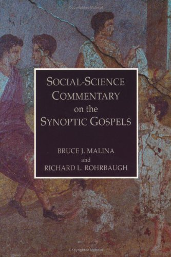 9780800625627: Social Science Commentary on the Synoptic Gospels