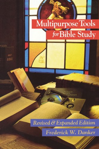 Multipurpose Tools for Bible Study (0800625986) by Frederick W. Danker