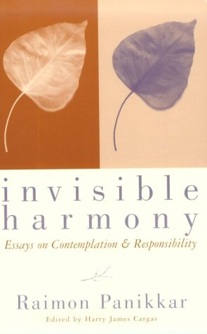 9780800626099: Invisible Harmony: Essays on Contemplation and Responsibility