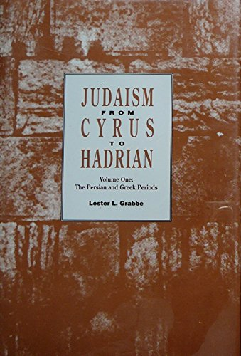 9780800626198: Judaism from Cyrus to Hadrian