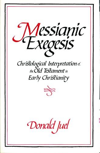 9780800627072: Messianic Exegesis