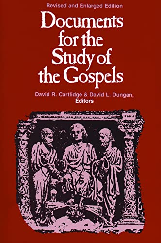 9780800628093: Documents for the Study of the Gospels