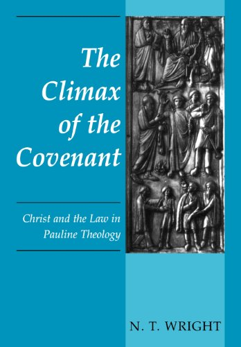9780800628277: The Climax of the Covenant: Christ and the Law in Pauline Theology