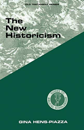 9780800629892: New Historicism (Guides to Biblical Scholarship Old Testament Series)