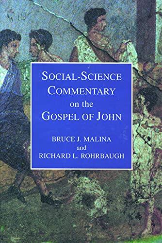 9780800629922: Social Science Commentary on the Gospel of John