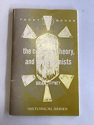 9780800630645: Ockham, the Conciliar Theory, and the Canonists (Facet Books. Historical Series, 19 (Medieval).)