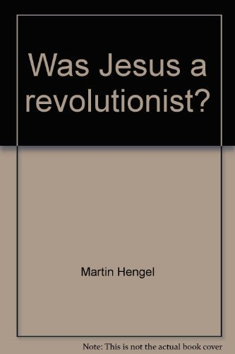 9780800630669: Was Jesus a revolutionist? (Facet Books. Biblical series, 28)