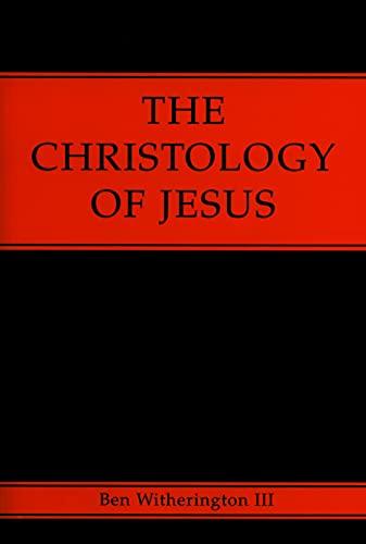 9780800631086: The Christology of Jesus