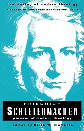 9780800634018: Friedrich Schleiermacher (Making of Modern Theology)