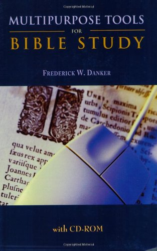 Multipurpose Tools for Bible Study (0800635957) by Frederick W. Danker