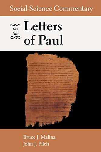 9780800636401: Social-Science Commentary on the Letters of Paul