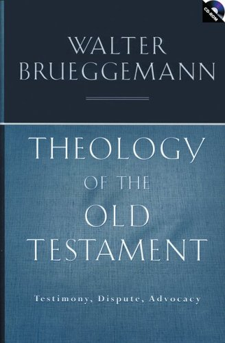 9780800637651: Theology of the Old Testament: Testimony, Dispute, Advocacy [With CDROM]