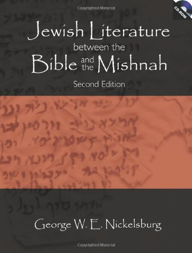 9780800637798: Jewish Literature Between The Bible And The Mishnah, with CD-ROM, Second Edition