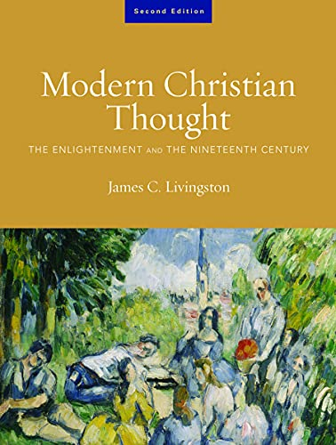 9780800637958: Modern Christian Thought: The Enlightenment and the Nineteenth Century