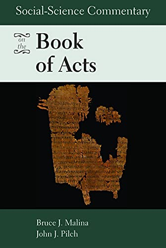 9780800638450: Social-science Commentary on the Book of Acts
