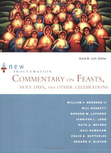 9780800662288: New Proclamation Commentary on Feasts, Holy Days, and Other Celebrations