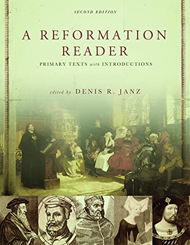 9780800663100: A Reformation Reader: Primary Texts With Introductions
