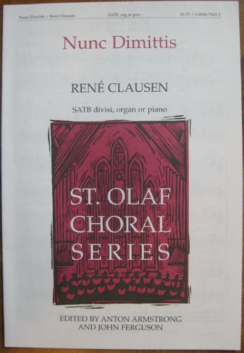 9780800676438: Nunc Dimittis Choral (Augsburg Choral Library)