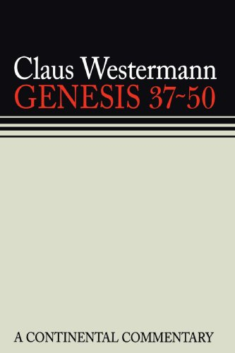 9780800695026: GENESIS 37-50 A CONTINENTAL COMMENTARY (Continental Commentaries)