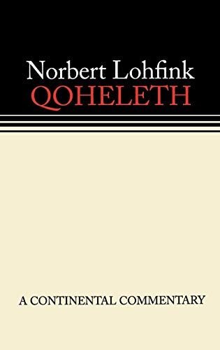 9780800696047: Qoheleth [Ecclesiastes] (Continental Commentary Series)
