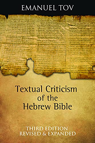 9780800696641: Textual Criticism of the Hebrew Bible