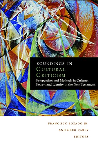 Soundings in Cultural Criticism: Greg Carey