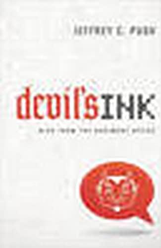 Devil's Ink: Blog from the Basement Office: Jeffrey C. Pugh