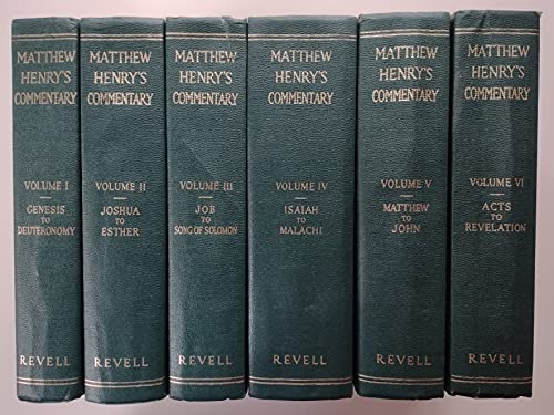 9780800702021: Matthew Henry's A Commentary on the Whole Bible