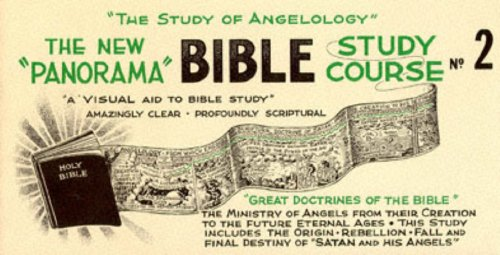 9780800702229: New Panorama Bible Study Course: The Study of Angeology Vol 2 (The New Panorama Bible Study No. 2)