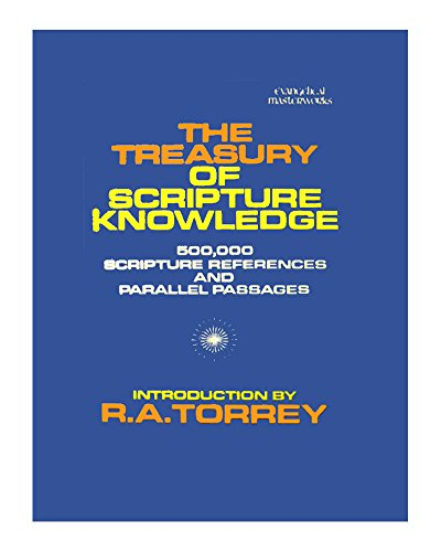 9780800703240: The Treasury of Scripture Knowledge