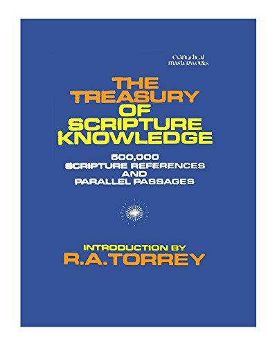 9780800703240: The Treasury of Scripture Knowledge