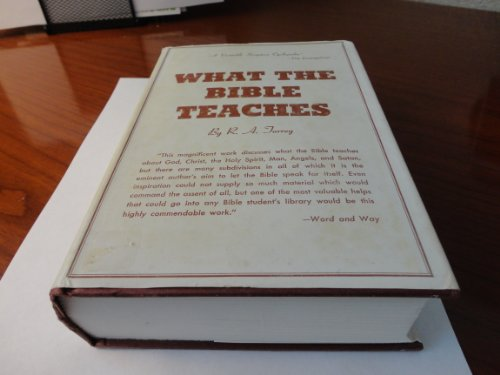 9780800703448: What the Bible Teaches