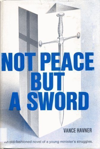 """Not Peace But a Sword 9780800704704 Riverby Memorial Church was both imposing and important, with a liberal sprinkling of lawyers, doctors, retailers and politicians. Its pastor was highly educated, an excellent speaker, and surpassed every area minister in the art of pleasing all the church members. Everyone spoke well of their pastor. Memorial Church was a peaceful place to be—but it was the peace of a cemetery! All that changed when Stephen Lynn came to town. Lynn was not a pastor, but he was a Christian through and through. He took Christ and his words seriously. He not only talked the talk; he walked the walk. Through Lynn's influence, the pastor was renewed as well as several others. The """"old guard"""" resisted this fresh move of the Spirit. The devout soon discovered that the way of Christ was a way of """"not peace but a sword."""" This refreshing fictional account of revival coming to a local church, should whet the spiritual appetite of every believer who thirsts for reality—in their own life and the life of the church."""