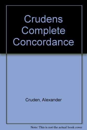 9780800709167: Crudens Complete Concordance