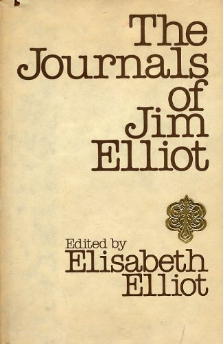 9780800709228: Title: The journals of Jim Elliot