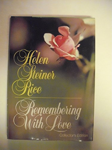 9780800714345: Remembering With Love