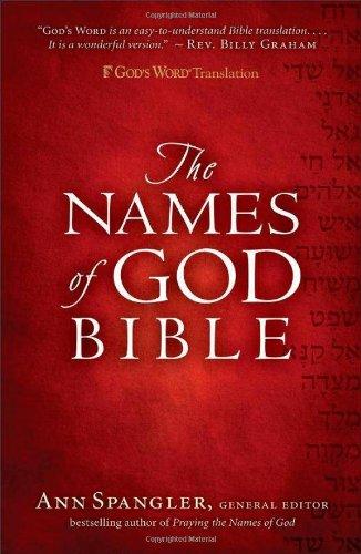 9780800719319: GW Names of God Bible Hardcover