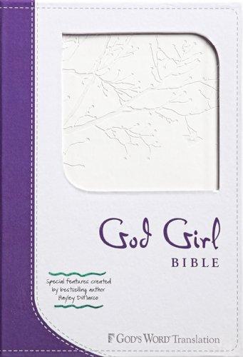 9780800720179: God Girl Bible: God's Word Translation, Duravella, Snow White / Deep Purple/Tree Design, Youth & Teen