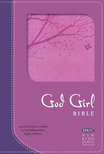 God Girl Bible-nkjv-tree Design (Hardcover): Hayley Dimarco