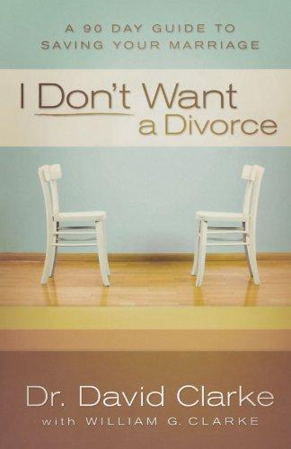 9780800734015: I Don't Want a Divorce