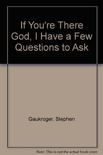 9780800752828: If You're There God, I Have a Few Questions to Ask
