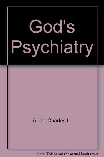 9780800753610: God's Psychiatry